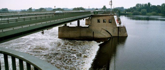 Geesthacht Elbe Brücke